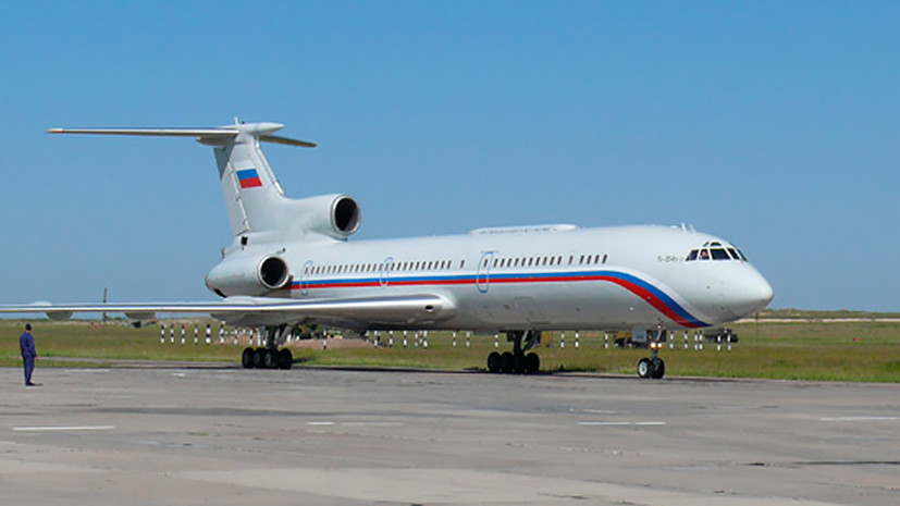ФСБ опрашивает очевидцев крушения российского Ту-154
