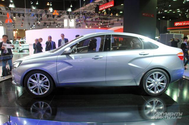 Двухтопливная Lada Vesta CNG поступит в продажу в конце года