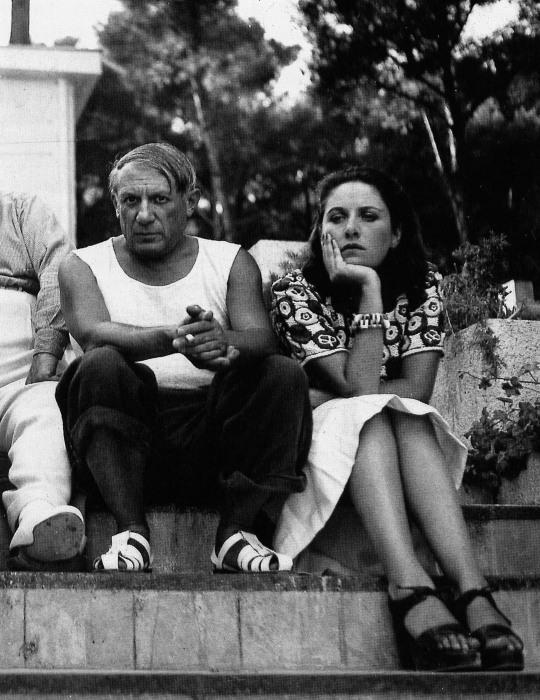 Пабло Пикассо и Дора Маар. \ Фото: infobae.com.