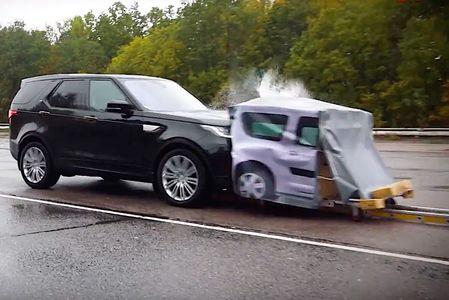 Остановится или врежется: экспертиза автоторможения (ВИДЕО)