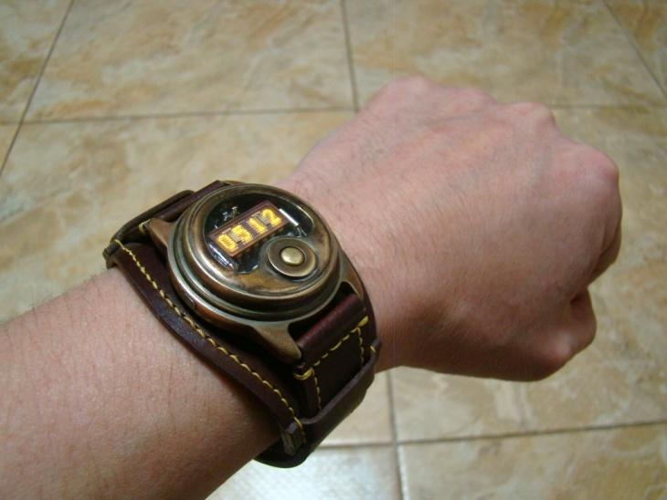Стим-панк часы своими руками (Diy)