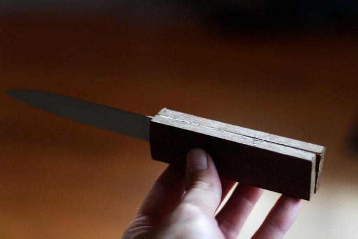 Как восстановить нож если отломалась ручка