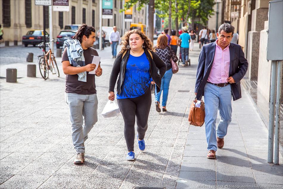 фото простых чилийцев трассы