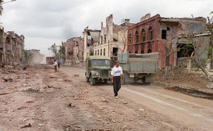 В окопах Грозного: 25 лет назад закончилась первая чеченская война