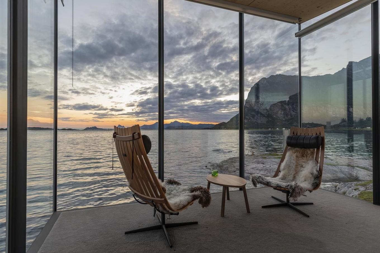 Эко-отель в Норвегии
