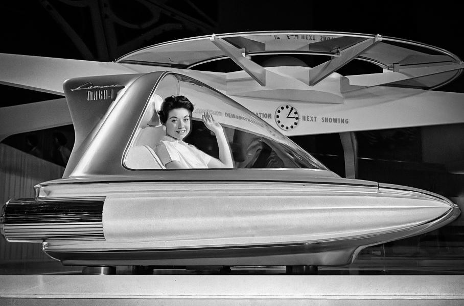 Летающие автомобили: от идеи до воплощения автомобили,дороги