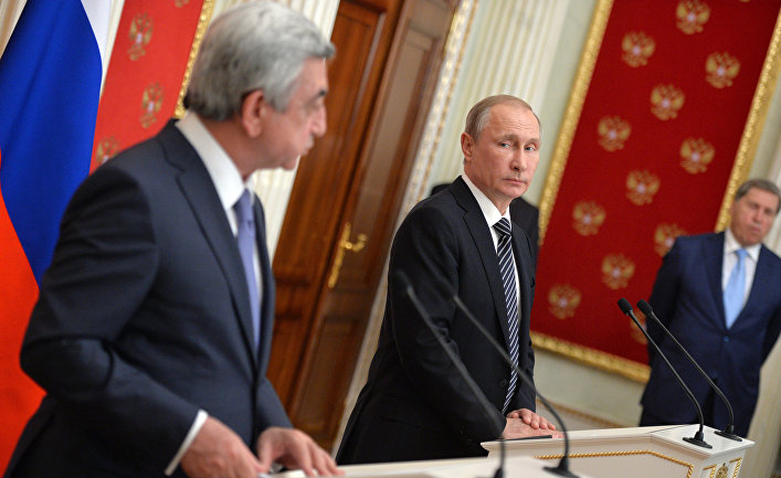 Ереван открытым текстом сказал «нет» Москве (Аравот, Армения)