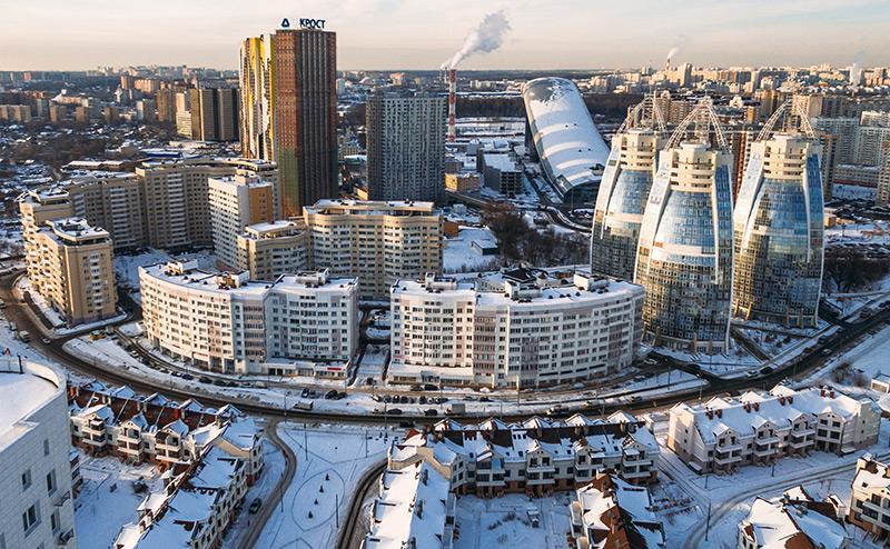 Небогатые украинцы скупают квартиры под Москвой