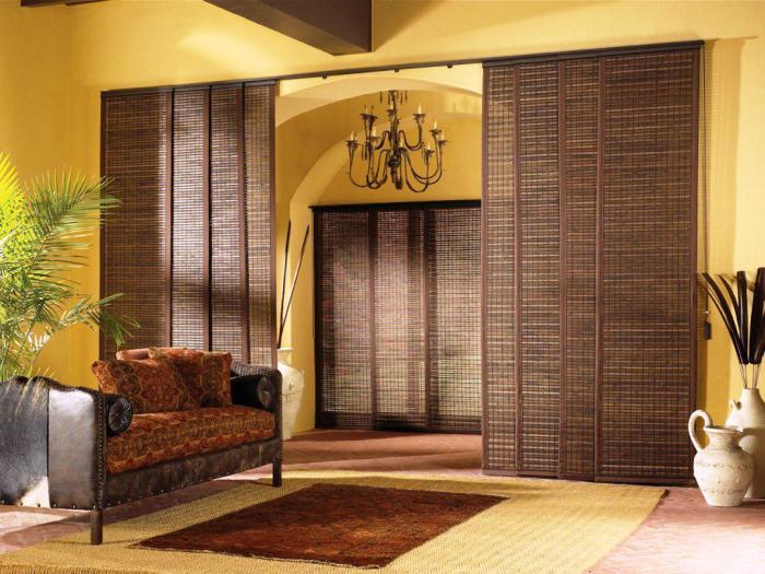Панели из бамбука долговечны и не требуют особого ухода.