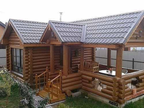 Собираетесь строить баню на даче? 30 фото + 5 проектов бани