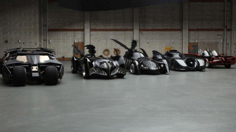 Самые интересные машины Бэтмена