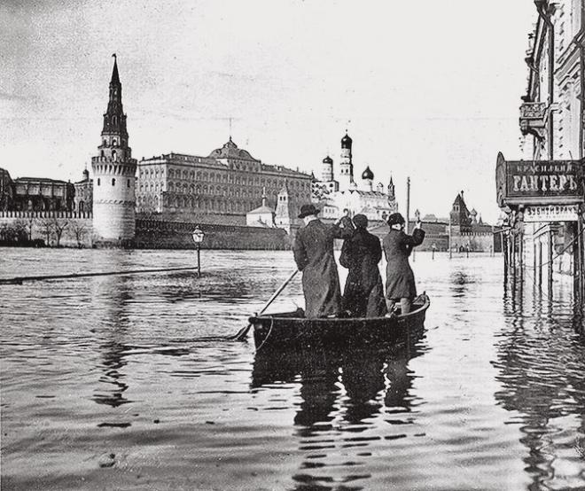 Большое московское наводнение 1908 года