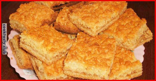 Вкусный тертый пирог &171;Каракум&187;