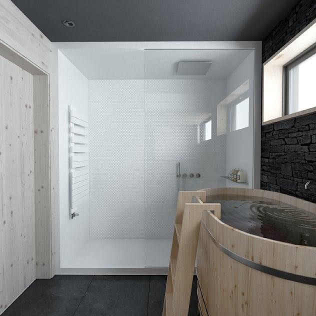 Интерьер дома AUS: Спа, бани, сауны в . Автор – INT2architecture