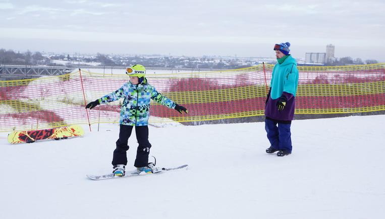 Соревнования по сноуборду пр…