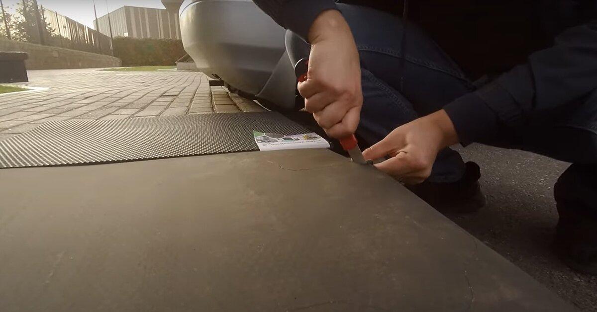 Как сделать EVA-коврики своими руками за 800 рублей и 30 минут авто,авто и мото,автосалон,автосамоделки,водителю на заметку,машины,ремонт,Россия,советы,тюнинг