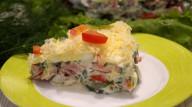 Потрясающе вкусный салат с секретной заправкой