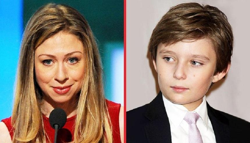 Дочь Клинтон спасла «сына-аутиста» Трампа от травли в Сети
