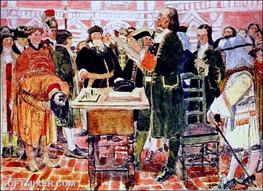 Самые необычные приказы Петра І