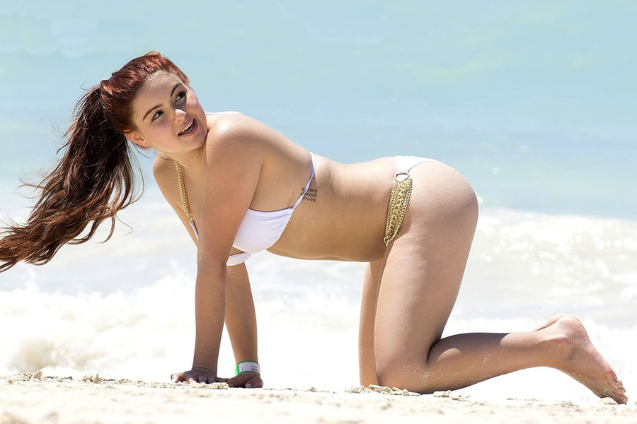 Женщины, которым нельзя оголяться на пляже!