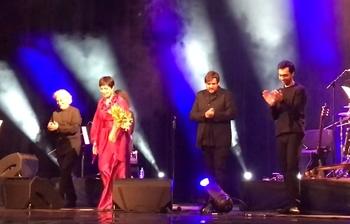 Звезда фадо Тереза Сальгэйра выступила в Сочи