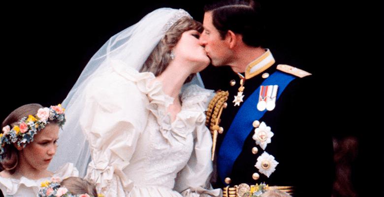 Поцелуй Дианы и Чарльза запо…
