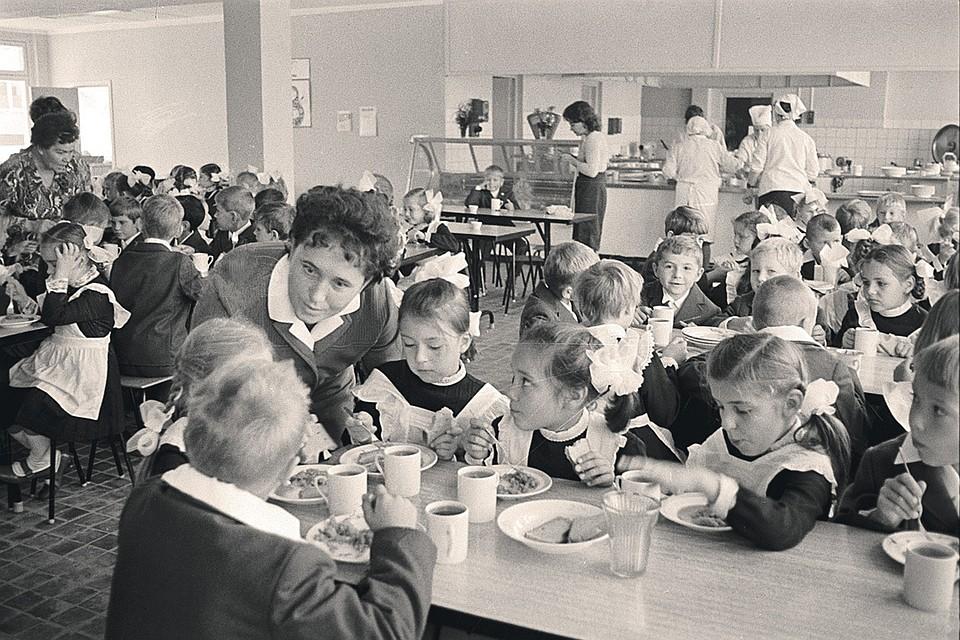О школьном питании в СССР