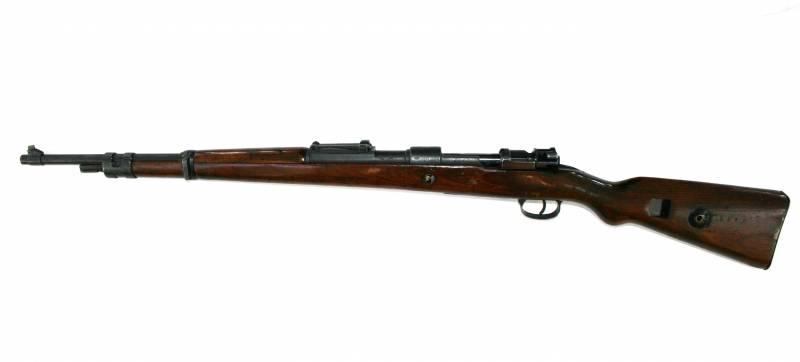 Использование трофейных немецких винтовок и автоматов в СССР оружие