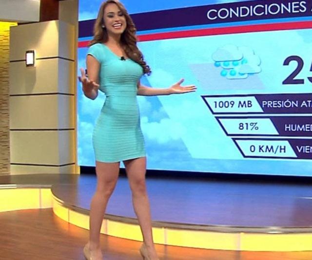 Порно видео ведущая прогноза погоды