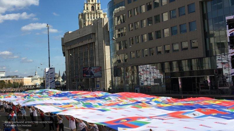 Митинг к 350-летию флага РФ на Сахарова является зарождением новой традиции
