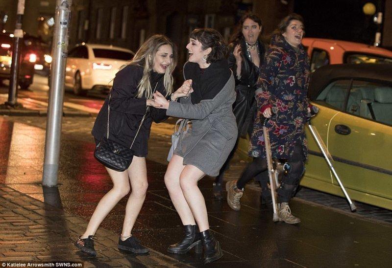 Эдинбург великобритания, новый год, погуляли, тусовщики, фоторепортаж, хогманей, шотландия