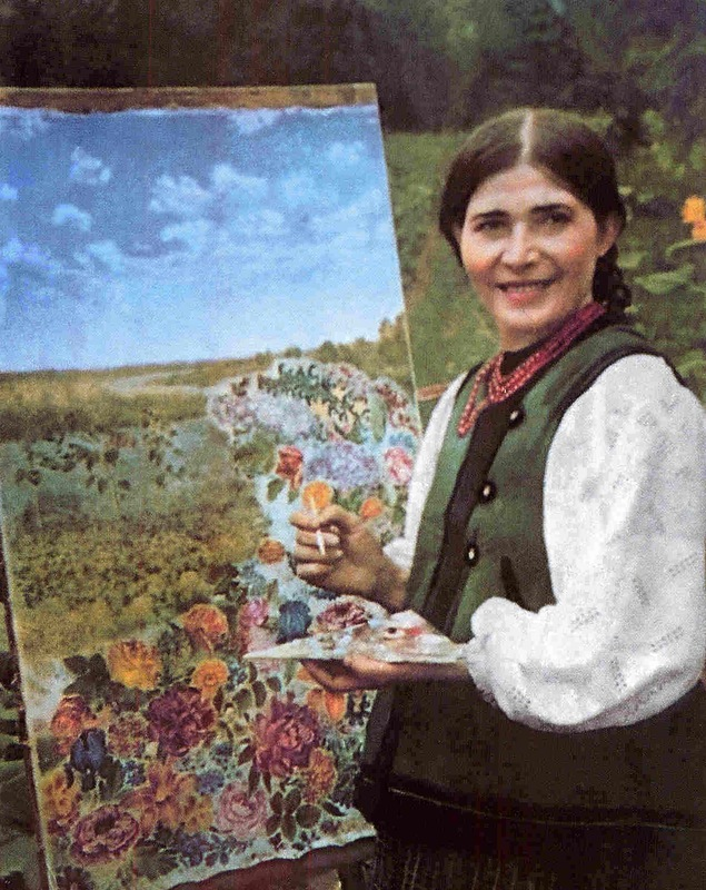 Катерина Белокур – сельская художница из Полтавщины, покорившая мир