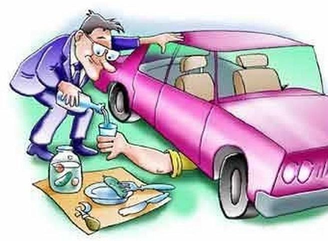 Годовщиной, смешная картинка ремонт машины