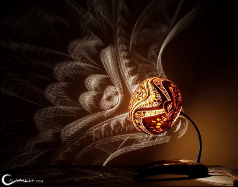 Если включить эту лампу, то дом превратится в дворец!