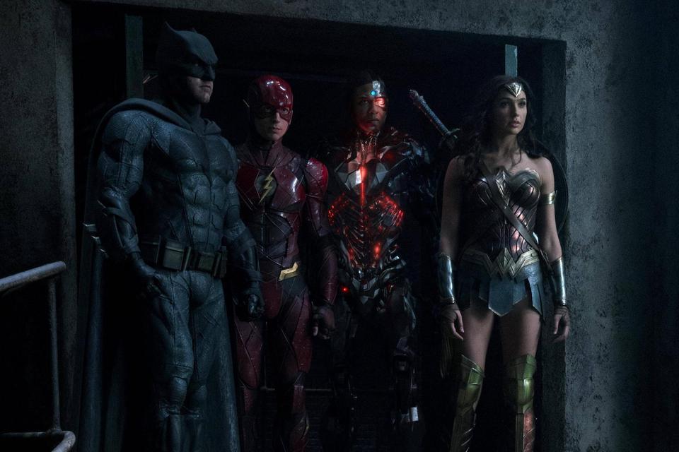 «Лига Справедливости» в кино…