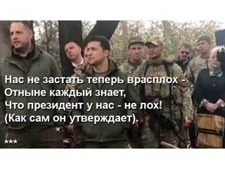 Ночи и дни длинных ножей Владимира Зеленского