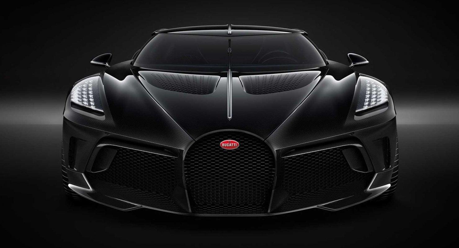 Bugatti представит 31 мая 2021 года модель La Voiture Noire Автомобили