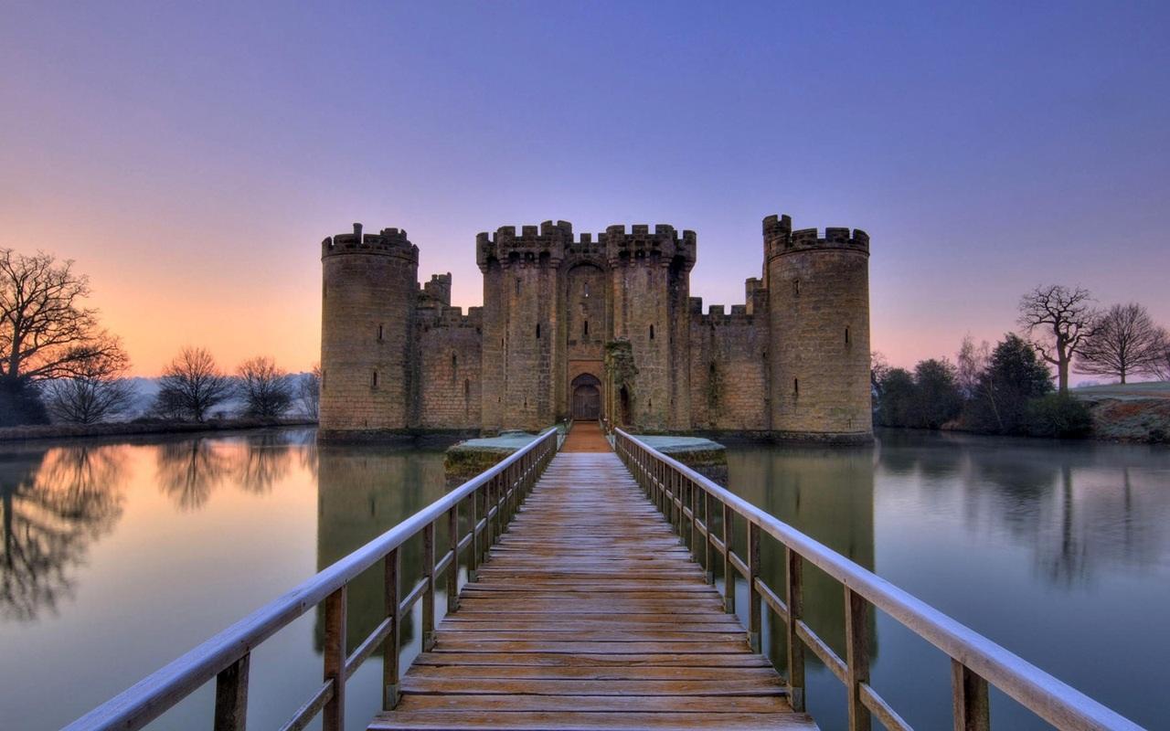 Английский замок картинки