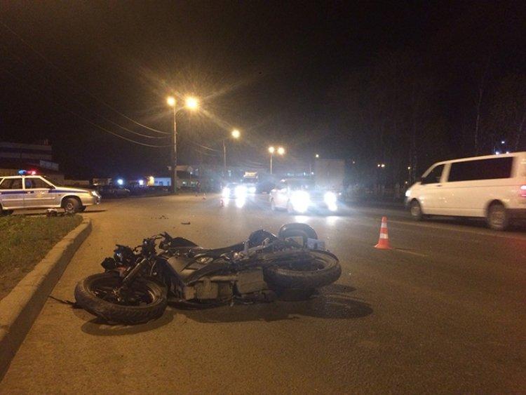 Авария с участием мотоциклис…