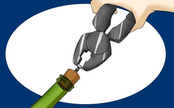 4 крайне эффективных способа открыть вино без штопора