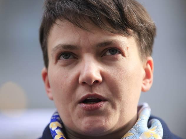 Надежда Савченко объявила 83-дневную голодовку