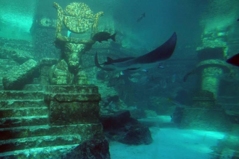 В поисках затонувших городов история
