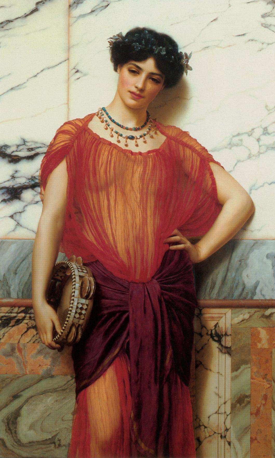 1906_Друзилла (любовница и фактическая соправительница кровожадного императора Калигулы) (частная коллекция)