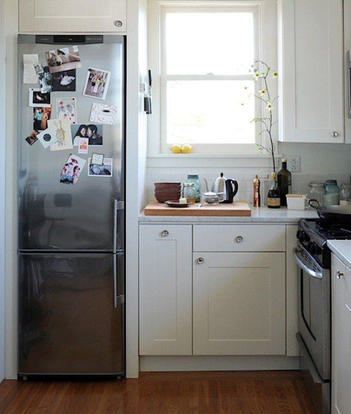как лучше установить холодильник на кухне фото количеству просмотров продаж