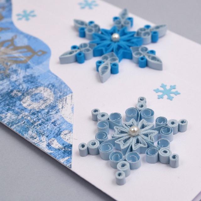 Снежинки в технике квиллинг: мастер-класс для начинающих квиллинг,новогодний декор