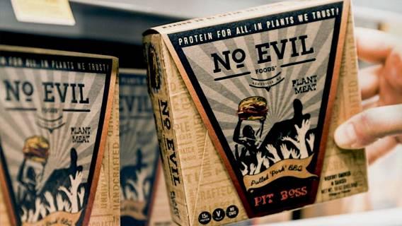 No Evil Foods стал первым в мире брендом растительного мяса с отрицательным выпуском пластика