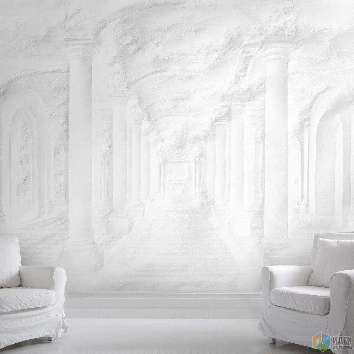 Бумажный дворец: крупноформатные обои