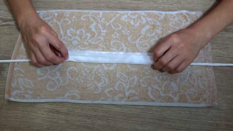 Мастерица сплела косичку из салфеток: интересный процесс и поразительный результат интерьер,переделки,рукоделие,своими руками,сделай сам