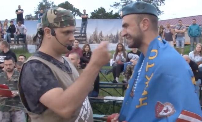 Солдат из ВДВ решил показать силу на ринге, но самоуверенность наказал боксер Культура