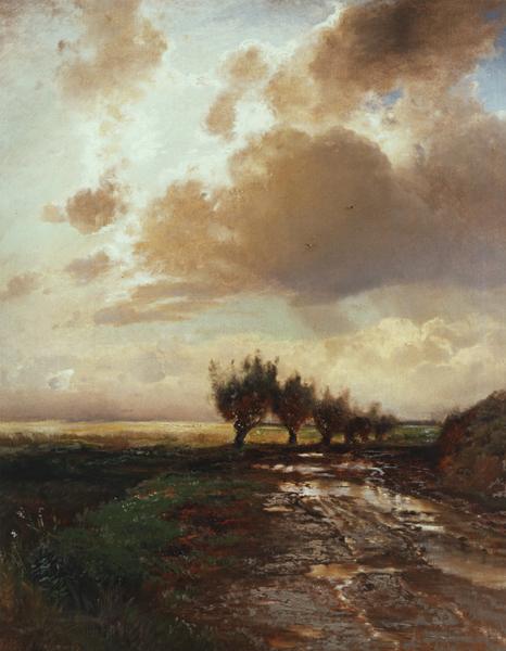 """* """"Проселок"""", 1873, 70×57 см"""